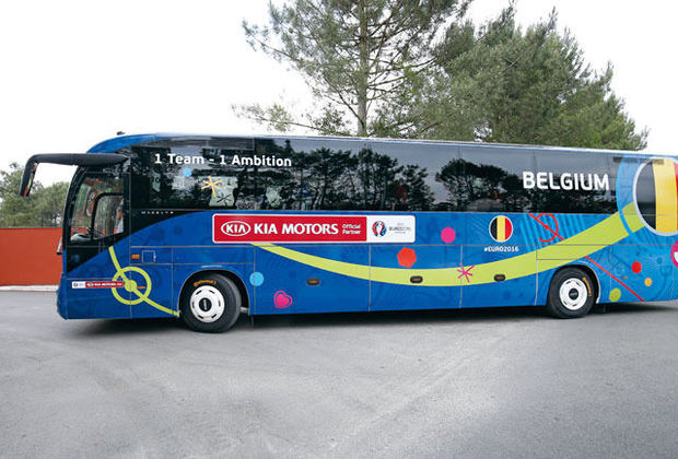 Le bus, on le gare où?, BELGA