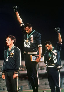 Tommie Smith et John Carlos - 1968