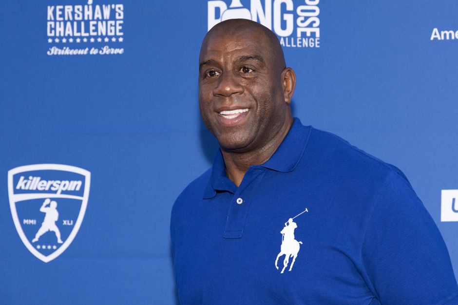 Magic Johnson, improbable sauveur des Los Angeles Dodgers