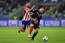 L'Atlético Madrid sans Carrasco contre Qarabag