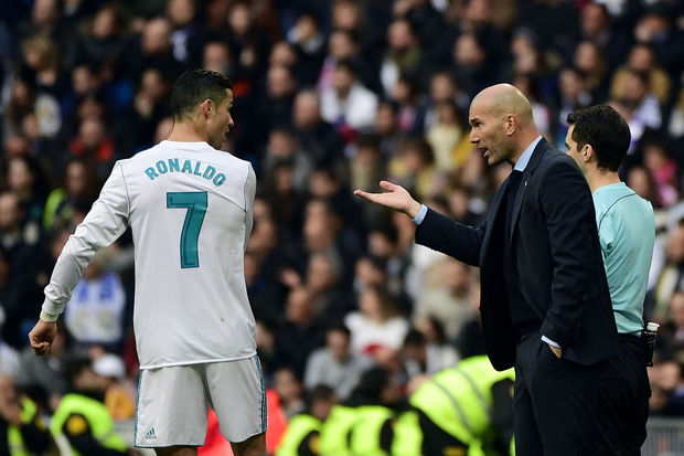 Zidane n'imagine pas le Real Madrid sans Ronaldo