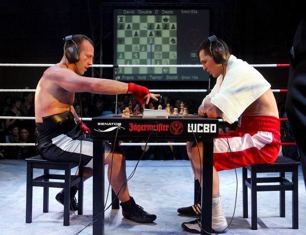 "Le chessboxing ou l'""Intellectual Fight Club"""