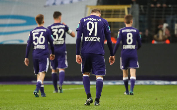 Anderlecht rate son départ en playoffs I
