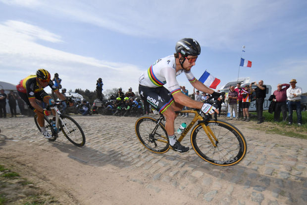 Paris-Roubaix - Sagan en champion du monde