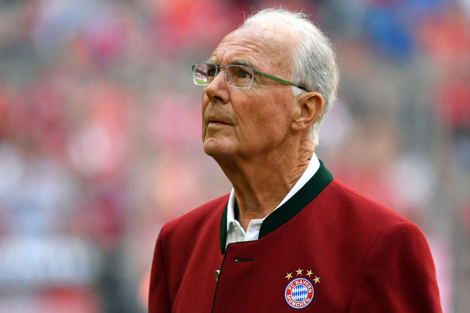 """Bienvenue au club!"", lance Beckenbauer à Deschamps"