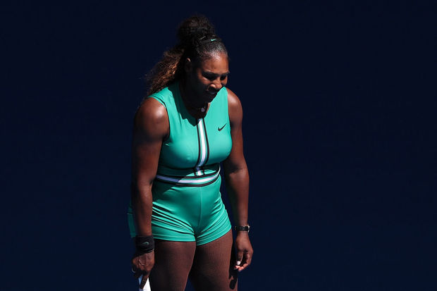 Serena Williams battue en quarts à l'Open d'Australie
