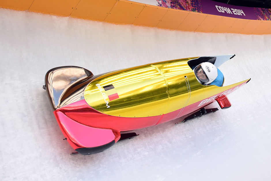 Bobsleigh les belgian bullets se classent 6es autres for Interieur bobsleigh
