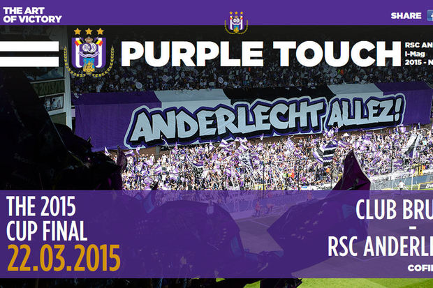 Anderlecht premier club belge à lancer son magazine digital
