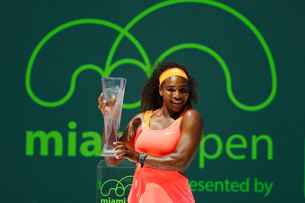 WTA Miami: Serena Williams s'impose pour la 8e fois