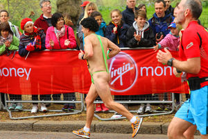 En images: Ambiance au Virgin Money London Marathon