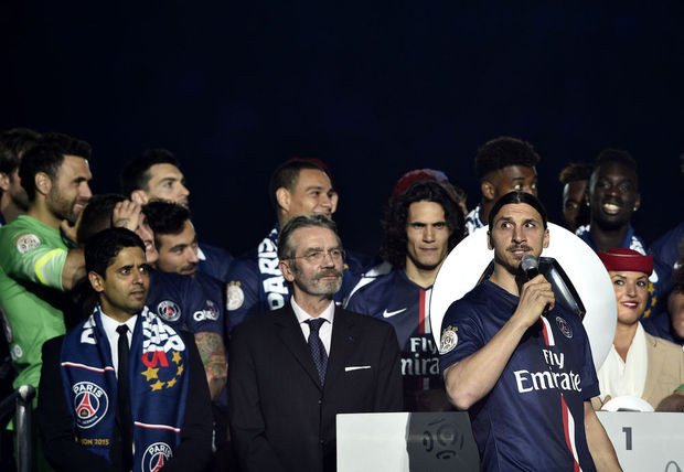 """Vive la France !"", s'exclame Ibrahimovic"