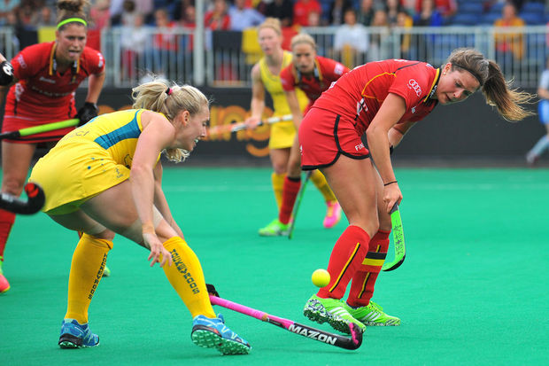 Hockey: les Red Panthers battues 0-2 par l'Australie