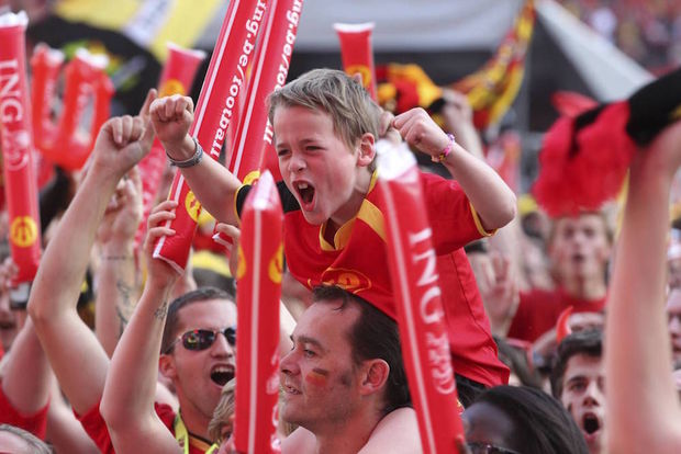 Euro 2016: les villages de supporters belges interdits