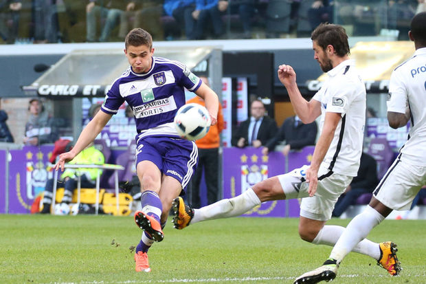 Jupiter Pro League: Anderlecht s'impose contre le Club de Bruges (1-0)