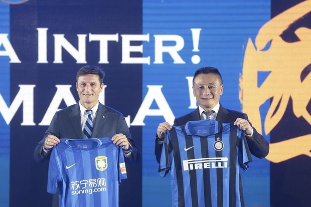 L'Inter Milan devient chinois