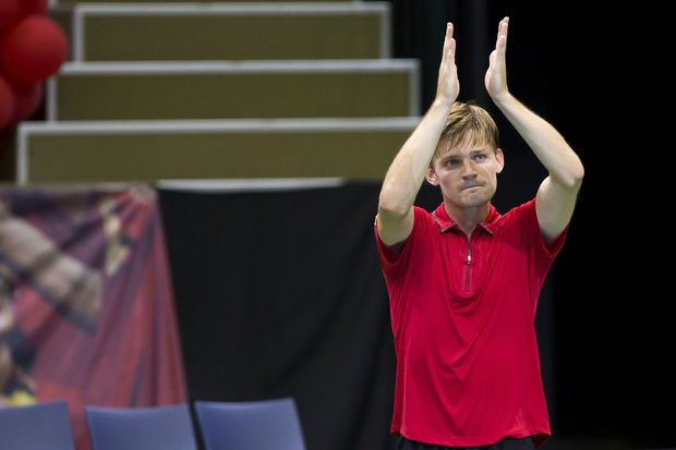David Goffin conserve sa 14e place au classement ATP inchangé