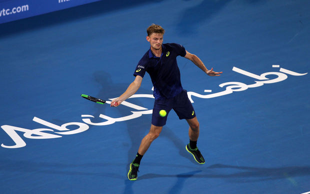 David Goffin surprend Andy Murray et va en finale à Abou Dhabi