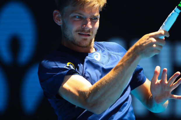 "David Goffin a joué ""le match quasiment parfait"" contre Karlovic"