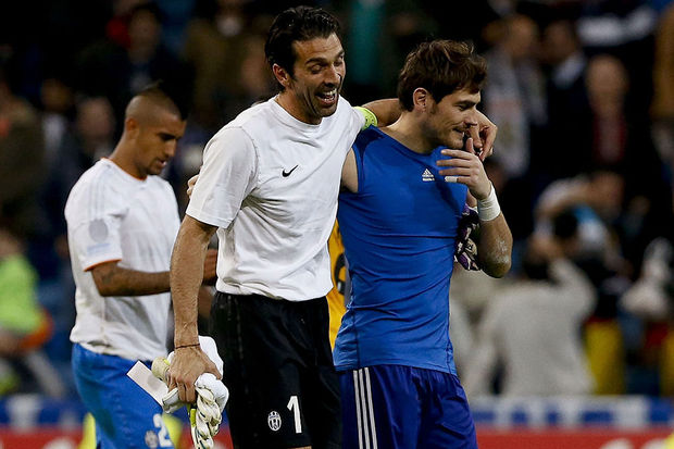 Champions League : Retrouvailles entre Buffon et Casillas