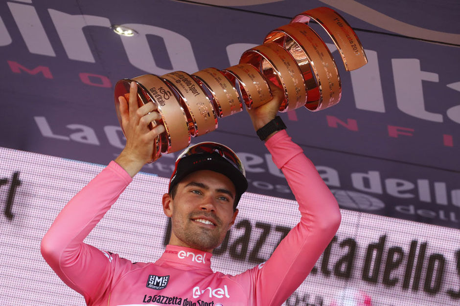 Tom Dumoulin remporte le 100e Giro
