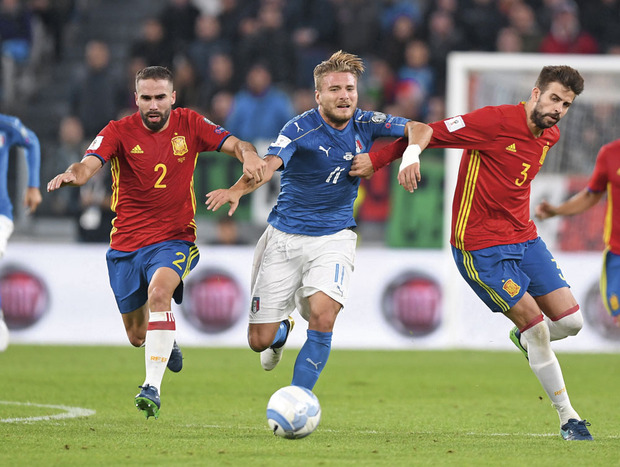 Espagne - Italie : objectif russe
